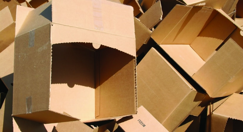 Holiday Cardboard Recycling Tips